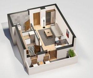 Apartament 1 camera, 36 mp, Tatarasi - Oancea
