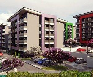 Apartament 2 camere (50 mp) + Locuri de parcare+Balcon si boxe moderne