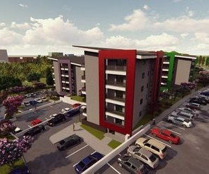 Apartament 2 camera (47 mp) + Locuri de parcare si boxe moderne