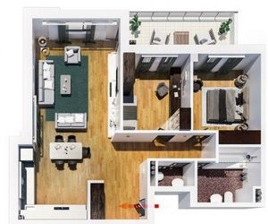 Apartamentu cu 3 camere, decomandat, 79 mp, zona Tatarasi - Flora