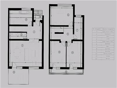 Casa individuala, zona Pacurari - Rediu, 120 mp, 400 mp teren, proiect deosebit